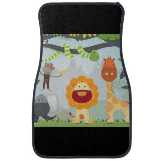 Jungle Animals Car Mat