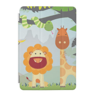 Jungle Animals Fun iPad Mini Cover