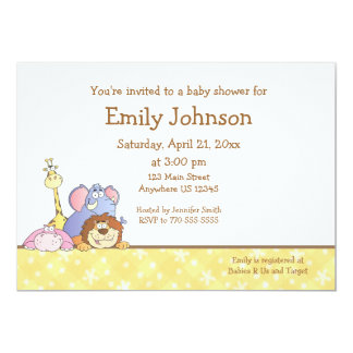 Jungle Baby Design Card