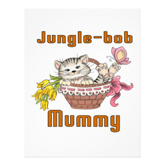 Jungle-bob Cat Mom Letterhead