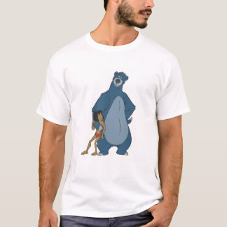 Jungle Book Baloo and Mowgli standing Disney T-Shirt