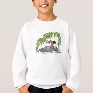 Jungle Book Baloo holding up Mowgli  Disney Sweatshirt