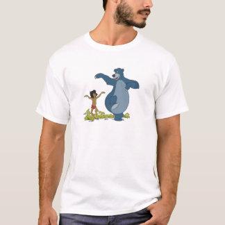 Jungle Book Mowgli and Baloo dancing Disney T-Shirt