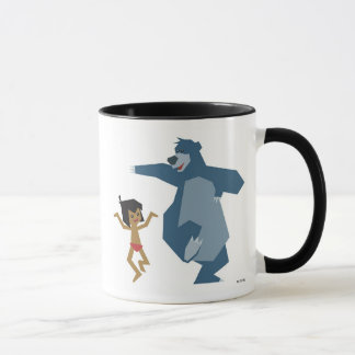 Jungle Book's Mowgli and Baloo Disney Mug