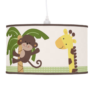 Jungle Buddies/Friends/Pals Nursery Lamp