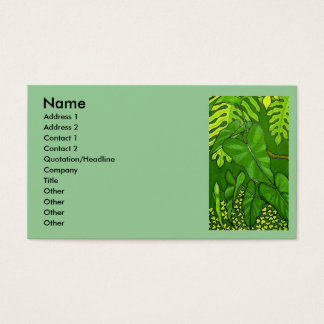 Jungle Business Card