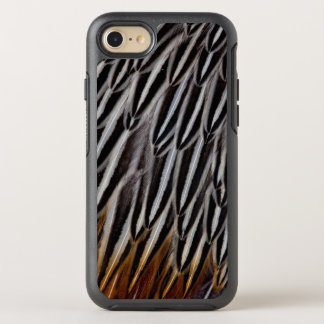 Jungle cock feathers close-up OtterBox symmetry iPhone 7 case