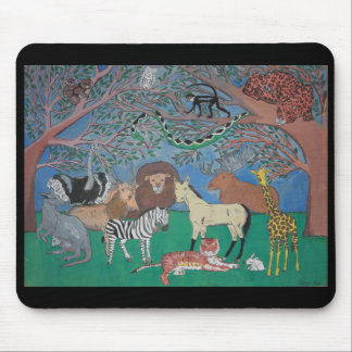 Jungle Conference Mouse Pad