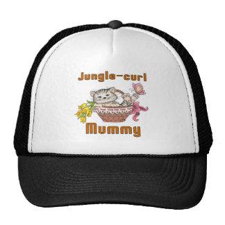 Jungle-curl Cat Mom Trucker Hat