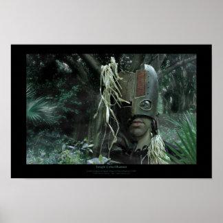 Jungle CyberShaman Poster