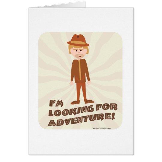 Jungle Explorer Adventure Boy Card