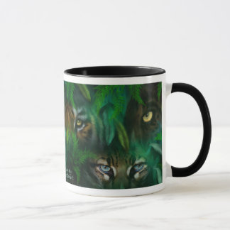 Jungle Eyes Art Mug