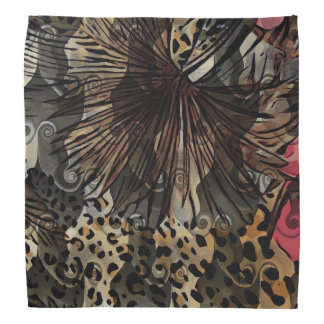 Jungle Fever Cheetah Print Bandana