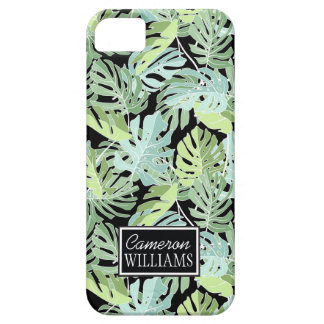 Jungle Floral Pattern | Add Your Name Case For The iPhone 5