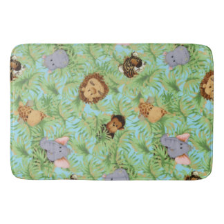 Jungle Friends Bathroom Mat