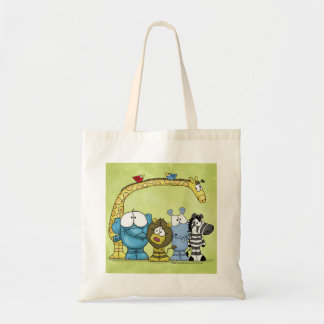 Jungle Friends-Wild About You Tote Bag