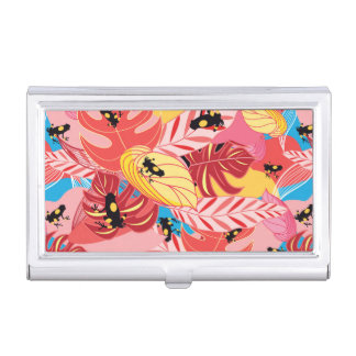 Jungle Frogs Business Card Holders