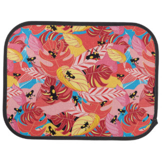 Jungle Frogs Car Floor Carpet