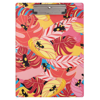 Jungle Frogs Clipboards