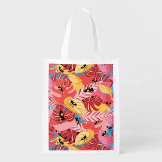 Jungle Frogs Grocery Bags