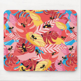 Jungle Frogs Mouse Pad