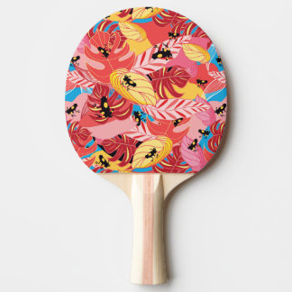 Jungle Frogs Ping-Pong Paddle