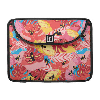 Jungle Frogs Sleeve For MacBooks