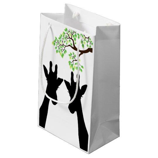 Jungle Giraffes Small Gift Bag