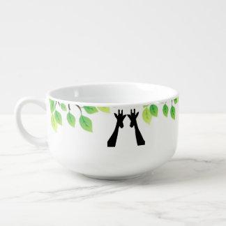 Jungle Giraffes Soup Mug