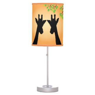 Jungle Giraffes Table Lamp