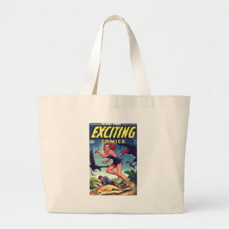 Jungle Girl and Condo Large Tote Bag