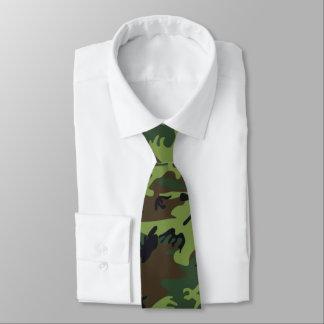 Jungle Green Camo Tie