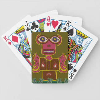 Jungle Ifrit Bicycle Playing Cards