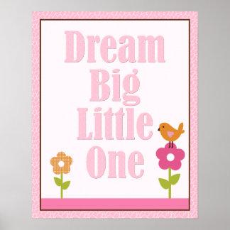 Jungle Jill Dream Big Little One Art Poster