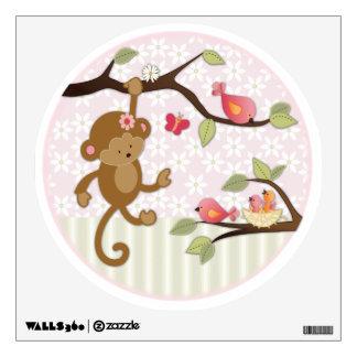 Jungle Jill Monkey Nursery Wall Decal