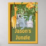 Jungle Kids Room Custom Poster