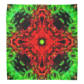 Jungle lava mandala bandana