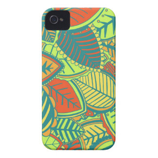 Jungle Leaves iPhone 4 Cover