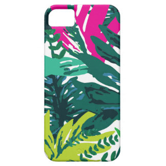 Jungle 'Leaves' Print iPhone 5 Cases
