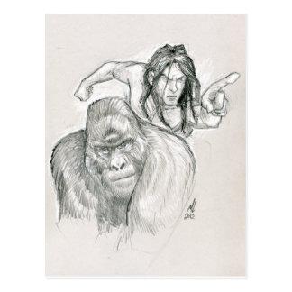 Jungle Lord Postcard