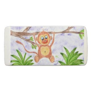 Jungle monkey fun kid eraser