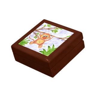 Jungle monkey giftbox gift box