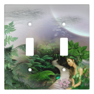 Jungle Moon Light Switch Cover