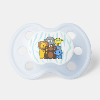 Jungle or Zoo  Animals Baby Boy Pacifier