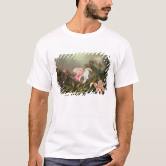 Jungle orchids and hummingbirds, 1872 T-Shirt