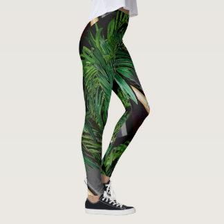 Jungle palm leggings