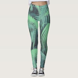 Jungle Palms Leggings