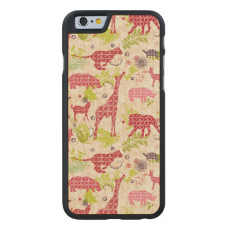 Jungle Paradise Carved® Maple iPhone 6 Case