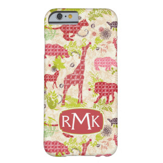 Jungle paradise | Monogram Barely There iPhone 6 Case