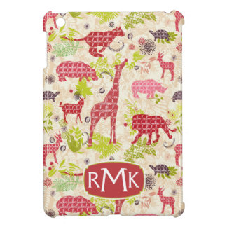 Jungle paradise | Monogram iPad Mini Cases